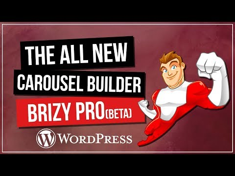 Brizy PRO Feature - Carousel Slider - 동영상