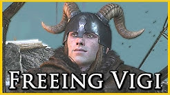Witcher 3: Releasing Vigi from the Cage - The Lord of Undvik Quest