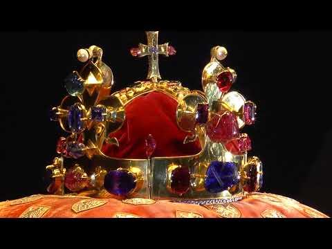 Prague - Bohemian Crown Jewels in Vladislav Hall (Korunovační klenoty)