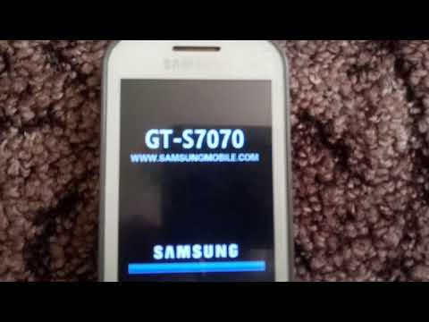 Samsung GT-S7070 on/off