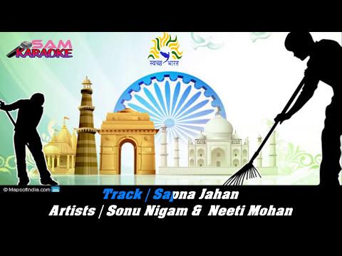 Sapna Jahaan_ Sonu Nigam Karaoke Sam Karaoke