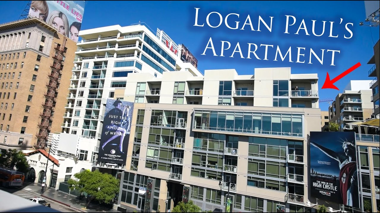 Logan Paul S Apartment And Lighthouse Cafe La La Land Youtube
