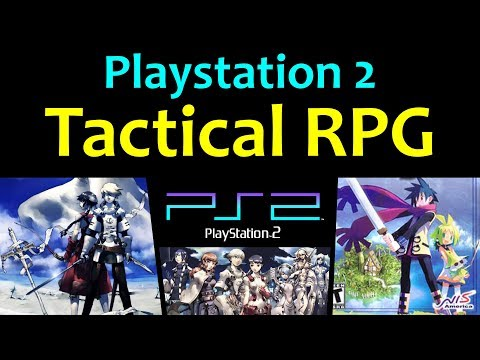 5 More Awesome PS2 Tactical RPG Games 😍 Video 2 ... (Gameplay)