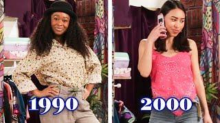 We Dressed Like The Year We Were Born: 1990 Vs. 2000