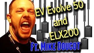 NEW EV Products - DJ Expo 2017 - Evolve 50 &  ELX 200