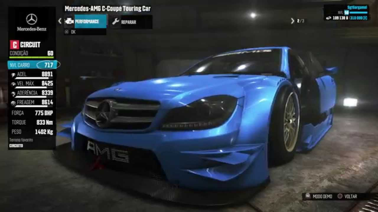 The crew new dlc mercedes benz amg c coup touring car for Mercedes benz touring car