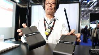Lancerlink show first 4K UHD wireless video transmitter at BVE