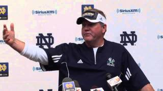 Coach Kelly Media Session - Oct. 4, 2012 - Notre Dame Football