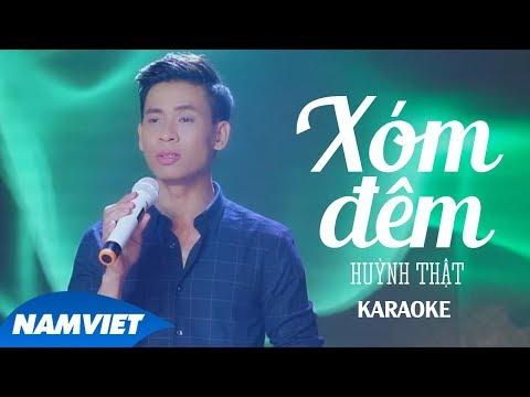 xóm-Đêm---huỳnh-thật-[karaoke]