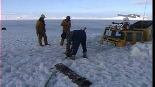 Repeat youtube video Antarctic Hagglunds BV206 Extream off road rescue