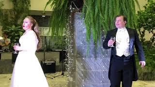 Наталия Дмитриевская (сопрано) и Виталий Козин (тенор). Дуэт. Оперные певцы. Библионочь