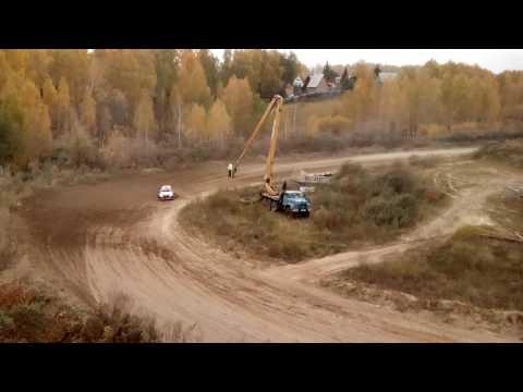 Машина перевернулась на финале ралли Сибирь