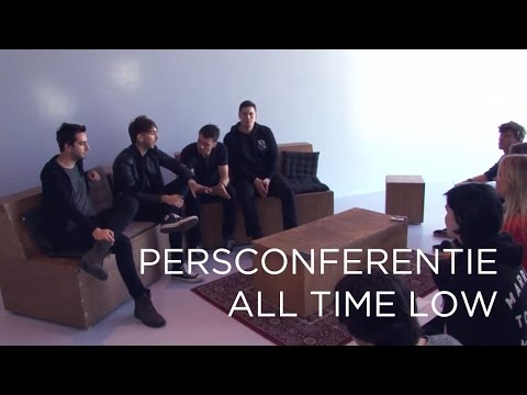 All Time Low - Future Hearts Persconferentie