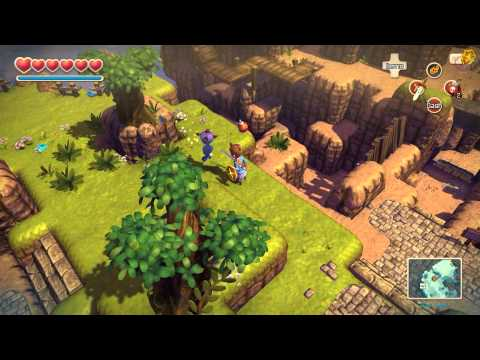 Oceanhorn Monster Of Uncharted Seas Tikarel 100% Complete WALKTHROUGH (PC/iOS) [HD]
