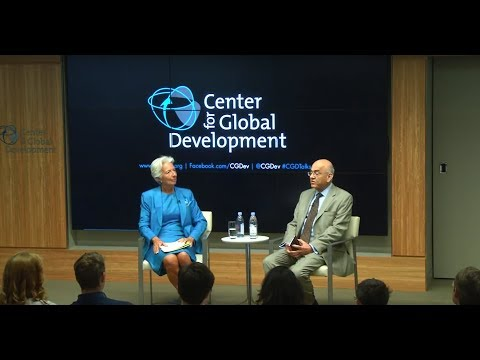 Global Economic Challenges: A Conversation with IMF Managing Director Christine Lagarde