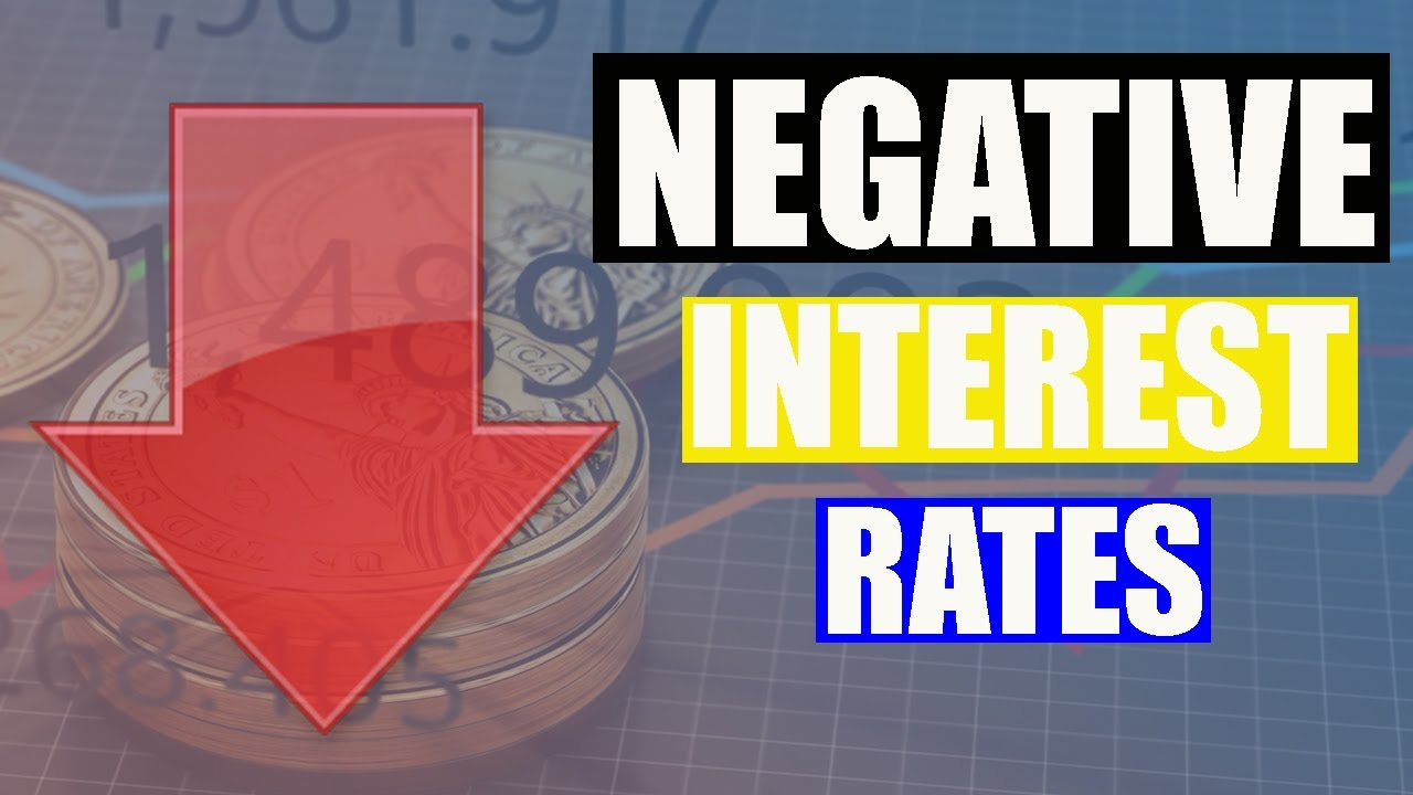 Get Paid To Borrow Money | Negative Interest rates and You