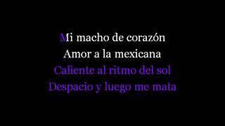 Amor A La Mexicana - Karaoke - Thalia