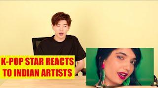 K-pop Star Eric Nam Reacts to Indian Artists Anushqa, Brodha V and Ritviz