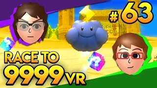 Mario Kart Wii - ENDLESS THUNDER CLOUDS! - Race To 9999 VR | Ep. 63