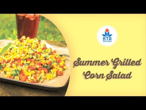 Summer Grilled Corn Salad by Chef Ryan