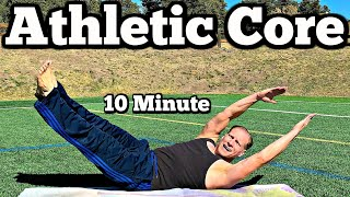 10 min Yoga and Pilates Core Workout for Athletes with Sean Vigue Fitness