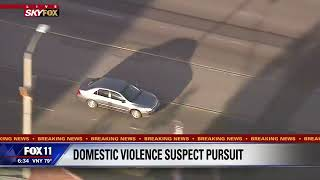POLICE CHASE MARATHON: Wild Chase in Los Angeles