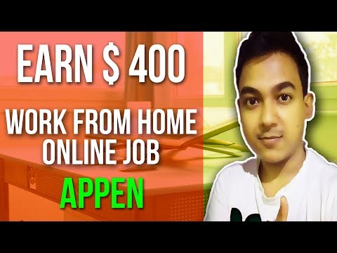 How To Earn $400 Per Month From Appen ||Work From Home Jobs||