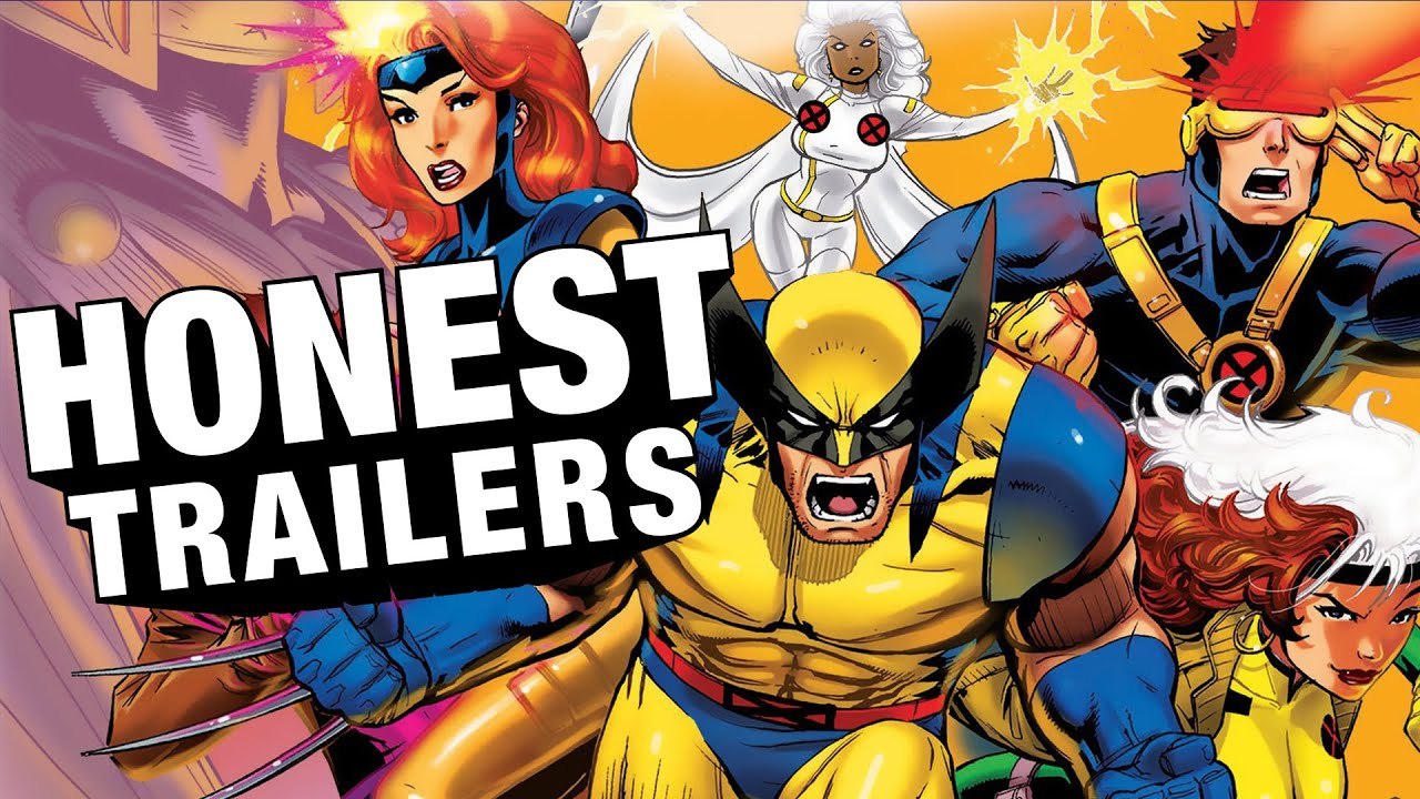 honest trailers xmen the animated series youtube