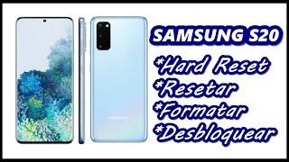 Dr.Celular - Samsung S20 - Hard Reset - Resetar - Formatar - Desbloquear