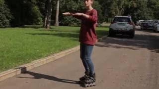 Инструктор по роликам. Как кататься на роликах задним ходом. 1 Сезон. Урок 7. Reversal on Skates