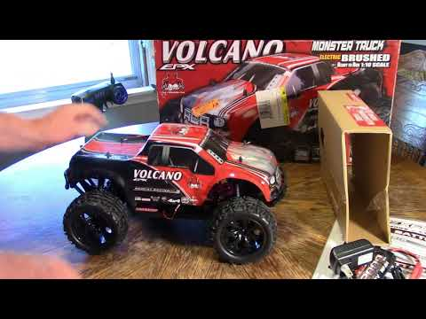 REDCAT VOLCANO EPX UNBOXING AND FIRST THOUGHTS