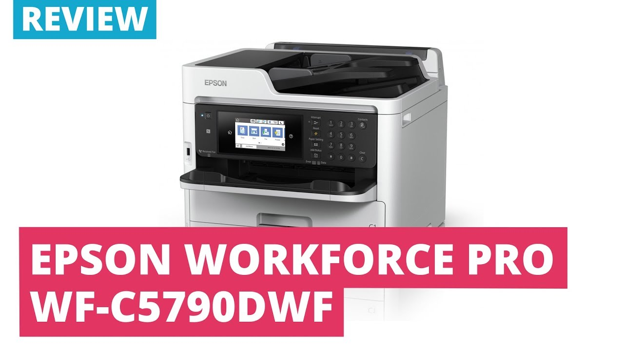 Printerland Review: Epson Workforce Pro WF-C5790DWF A4 Multifunction Inkjet  Printer