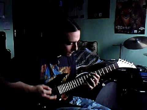 Arch Enemy  The First Deadly Sin guitar cover by Tomi