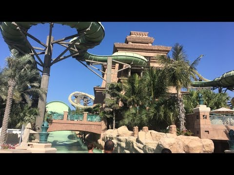 Atlantis Aquaventure Waterpark Dubai Vlog January 2018