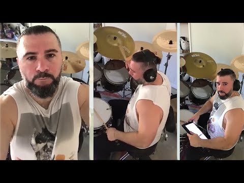 John Dolmayan drumming System Of A Down songs |Day 1| [9/4/2018] Mp3