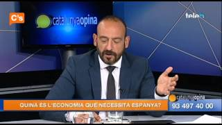 C's - Jordi Cañas en 'Catalunya Opina' de Badalona Tv  06/05/2015