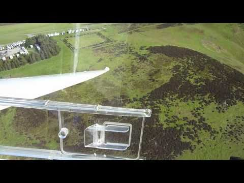 Low and Fast Ridge Gliding @ Long Mynd UK