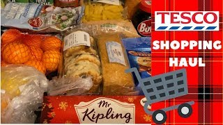 What's being bought for tea this week? Tesco grocery/food haul :) 20th November