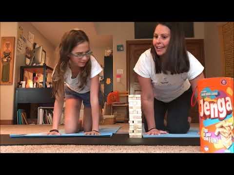 Mindfulness Month: Day 17: Mindfulness and Yoga with Jenga