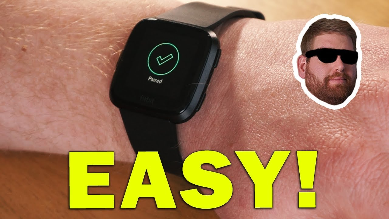 df0f8a4f88a Fitbit Versa How to Pair to Bluetooth Headphones - YouTube