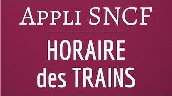 GREVE SNCF HORAIRE train, comment être informé du départ des trains SNCF TGV et TER