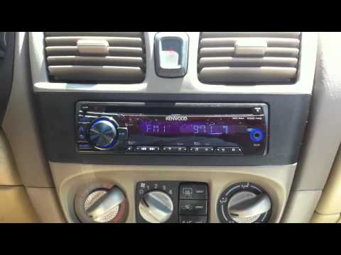 kenwood kdc  2001 nissan sentra kenwood kdc 148 cd aux ipod radio replacement al ed s los angeles duration 1 09 total views 15 446