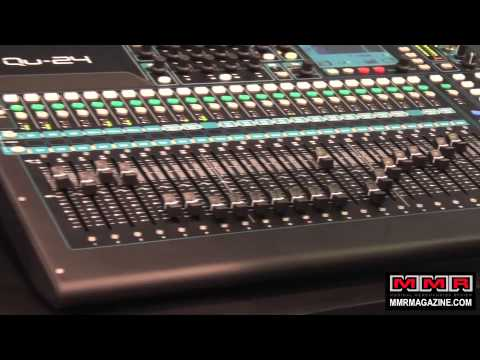 Allen & Heath Qu-24 Digital Mixer at NAMM 2014
