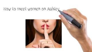 Dating Tips For Men - How to Pick up Women on Ashley Madison