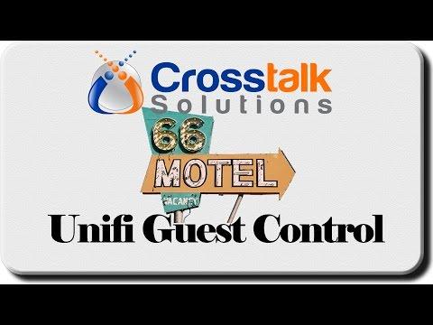 Unifi Guest Control - Crosstalk Solutions