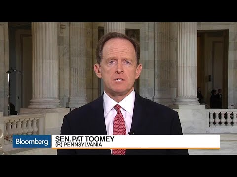 Sen. Pat Toomey on Tax Reform, Powell Testimony