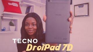 Tecno DroiPad 7d unboxing