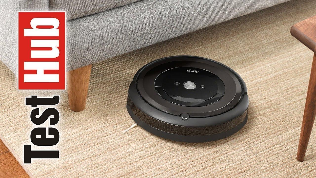 Irobot Roomba E5 Robot Sprzątający Prezentacja Youtube