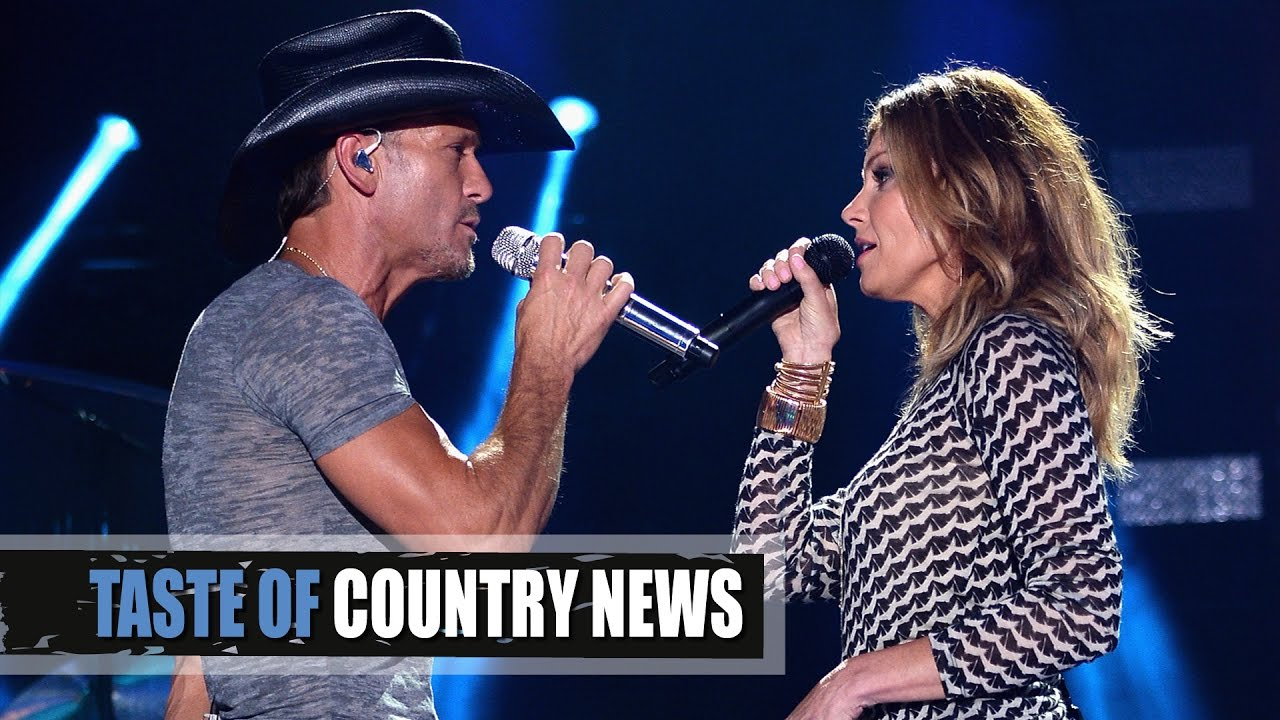 Faith Hill and her husband Tim McGraw
