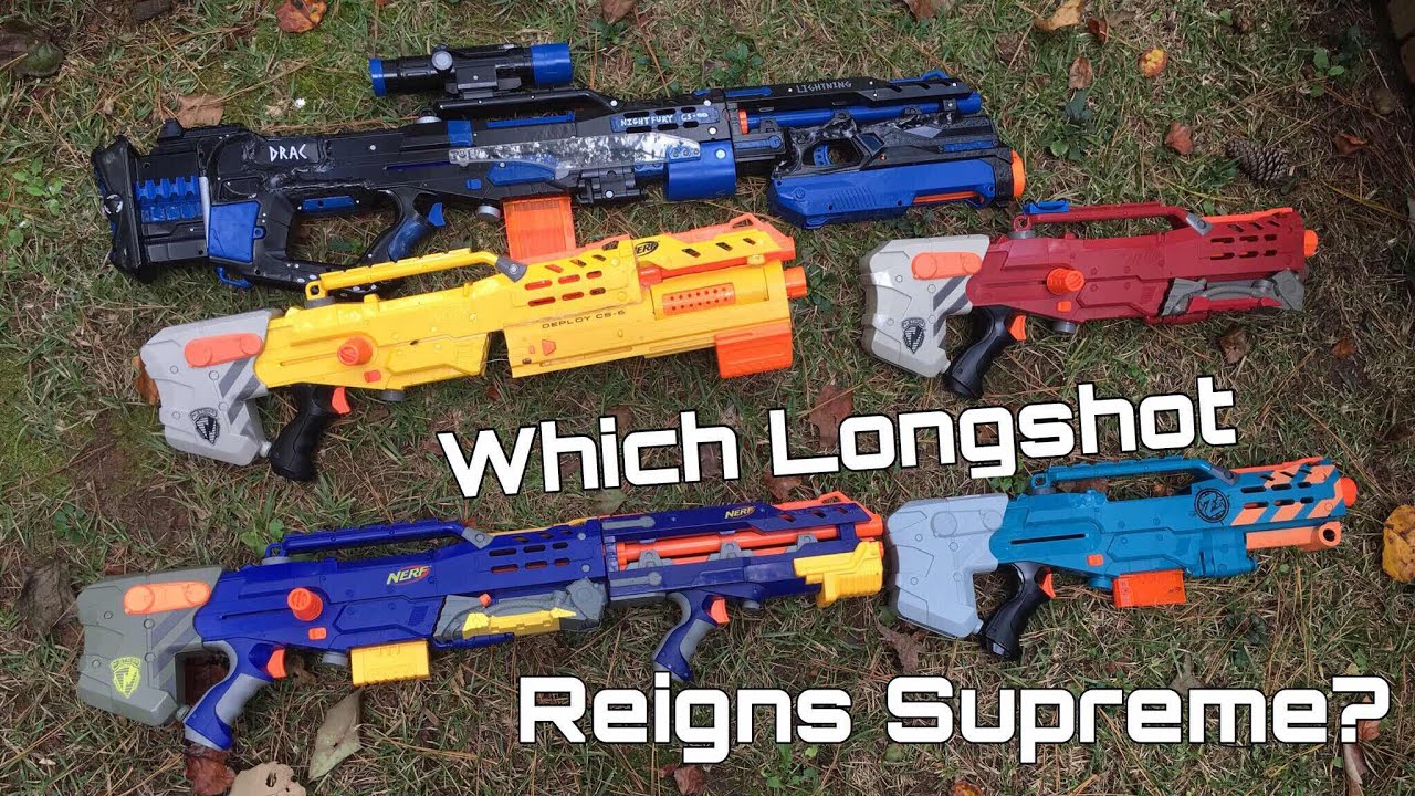 Best Nerf Sniper - Is it the Modulus Longstrike with Scope